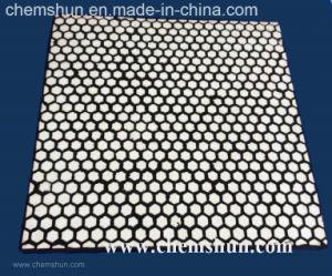 耐衝撃性の摩耗の陶磁器はさみ金によって加硫させる六角形のタイル(500*500mm)
