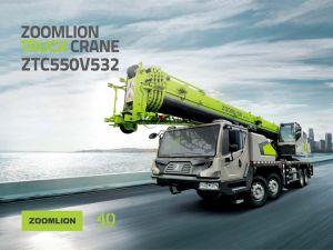 2020 новых автокранов 55 тонны Zoomlion мобильный кран Ztc550V532