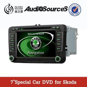 7 GPS, Bt, RDS, 라디오, iPod etc. (ANS610)를 가진 Vw/Skoda에서 인치 HD TFT 2 DIN 차 DVD GPS 항법 선수