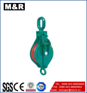 Industrial Pulley Double Wheel Snatch Block Hardware Rigging