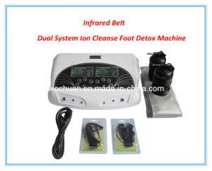 El hogar profesionales/personales utilizar Dual Detox spa para pies con decenas de parches de masaje para aliviar el dolor, el infrarrojo lejano de la cintura Ion pie de la máquina de desintoxicación