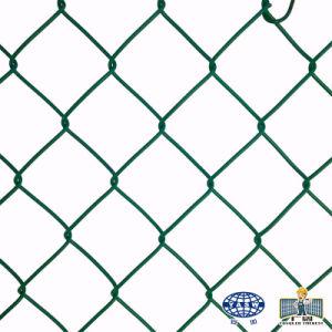 庭のための電流を通された鉄の金網のチェーン・リンクの塀のパネル