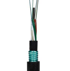Métro Tube lâche toronné blindé Câble à fibre optique (GYTY53)