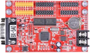 HBx-5A0単一および二重色のScreeneart定形クリスタルグラスの燭台のためのOnbon最も最近のLEDのコントローラー