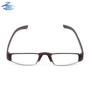 Nouveau modèle de produit chaud Fashion verres de lunettes de lecture des trames en plastique