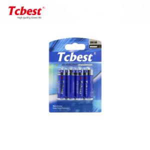 Fcatory alimenter directement CE/RoHS/portée/SGS/2006/66/CE LR6 1,5 V AA n° 5 360min 1,5V piles alcalines Batterie sèche pour télécommande jouets/ Calculators/des voyants LED