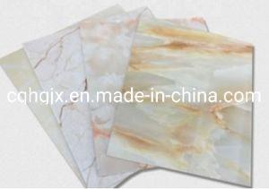 Sintética lavable y paneles de pared de mármol para la decoración de interiores