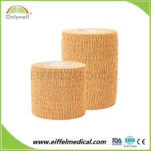 Coesa elásticas 10cm*4,5 m bandagem coesa de algodão
