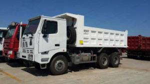 LHDのHOWO 6X4 70のトン371HP鉱山のダンプトラック