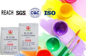 Het Dioxyde van het Titanium van het Rutiel van de goede Kwaliteit R908 voor Verf
