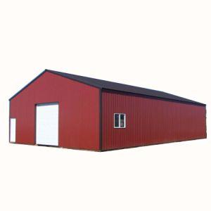 Китай низкая стоимость сегменте панельного домостроения лампа Металлический каркас здания Сборные стальные конструкции склада (TW1012J)