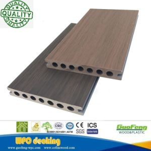 Pavimentazione composita di plastica di legno di Decking dell'espulsione WPC di Co