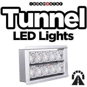 Высокая мощность 5 лет гарантии 100Вт Светодиодные лампы туннеля 15000лм прожектор