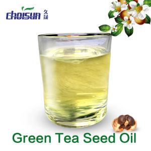 El Té Verde prensado en frío de aceite de semillas para el cuidado de la piel