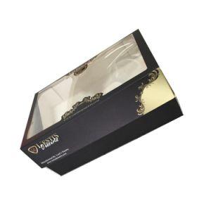 [هيغقوليتي] شوكولاطة ورقيّة يعبر صندوق مع نافذة واضحة