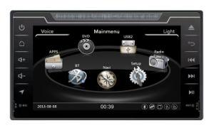 라디오 오디오 Bluetooth를 가진 Toyota Fortuner 2016년을%s 두 배 DIN 차 DVD GPS