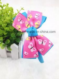 Arco dei capelli della fascia del bambino stampato fiore del gelato