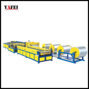 Macchina di produzione del condotto di aria per la fabbricazione del condotto di HVAC