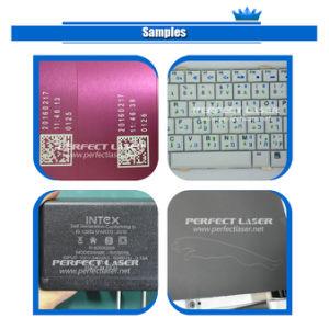 Desktop marcadora láser de fibra de Acero Inoxidable Aluminio