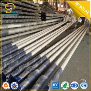 3m-12m galvanizado en caliente de poste de luz solar calle