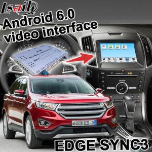 Android Market 6.0 Caixa de navegação GPS para a Ford Edge Sync Mirrorlink 3 com interface de vídeo