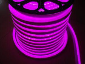 SMD 2835 LEDのネオン屈曲(ピンク、220V、12V)