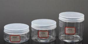De transparante Kosmetische Container van de Room van de Kleur Lege