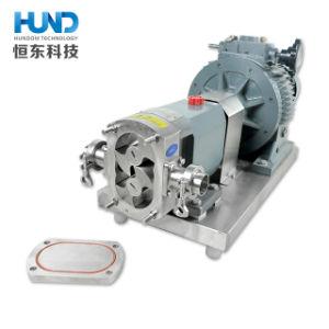 Aço inoxidável grau sanitárias de lóbulo rotativo da Engrenagem da Bomba do Rotor da Bomba