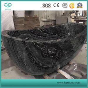 Legno nero/albero nero/marmo nero/marmo di legno di Verin per la lastra/ripiano del tavolo/mattonelle di pavimentazione/dispersore