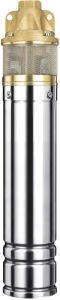 Bohrloch-versenkbare Wasser-Pumpe der tiefen Vertiefungs-4skm