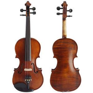 Горячая продажа матовая половина отделкой ручной работы твердых скрипок
