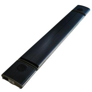 Infrared Pergola Desbarbamento Aquecedor exterior com colunas Bluetooth