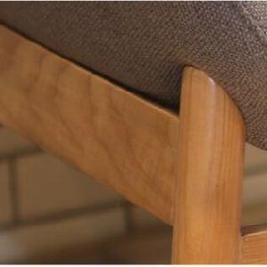 高品質の居間の家具の純木の椅子(D25)