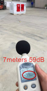 Yanmarの16kw/20kVA防音の無声ディーゼル発電機