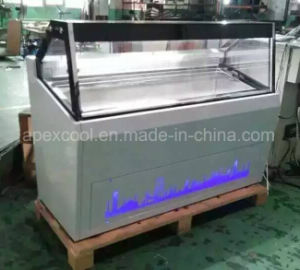 Nuevo estilo Ice-Cream congelador/Aprobación Ce Single-Temperature helado del congelador de pantalla