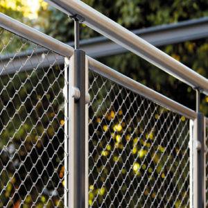 Netto de Kabel van de Veiligheid van het Balkon van de Trede van het Netwerk van de Kabel van de Draad van het roestvrij staal