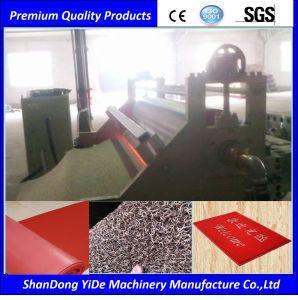 PVC二重カラースプレーの絹のコイル・カーのフィートのマットの生産ライン