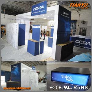 2019 Trade Show exposition modulaire aluminium Toile de fond en tissu afficher