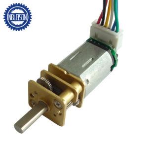 12mm Micro eléctrico motor de engranajes de metal con doble eje