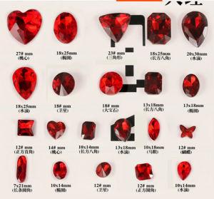 De lichte Parels van de Stenen van de Halfedelstenen van het Kristal van Siam voor Juwelen