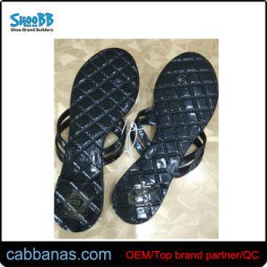 Fleur de la plage d'été Fashion Style Mesdames Chaussures Jelly Flip Flop pantoufles pour Womens en stock