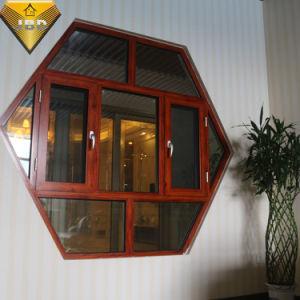 Vetratura doppia personalizzata in tondo e finestra curva