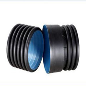 HDPEの管は、二重壁排水のためのHpdeの管を波形を付ける