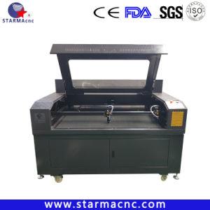 Jinan CNC 이산화탄소 두 배 헤드 Laser 조각과 절단기
