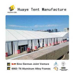 Novo Design Exterior Conferência temporária caso tenda com piso