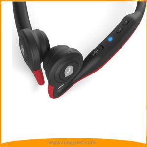 骨導のヘッドホーンの無線Bluetoothのステレオはヘッドセットを遊ばす(赤い)