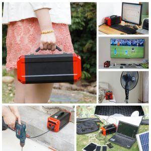 옥외를 위한 경량 리튬 건전지 팩 300W 휴대용 태양 발전소