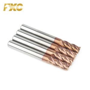 Ferramentas CNC carboneto sólido extremidade quadrada Mill para trabalhos mecânicos recordações