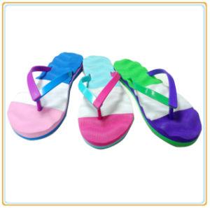 Горячие! ! Новая конструкция дамы дешевые поощрения Шлепанцы Тхонг красочные сандалии