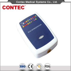 Equipo médico Ce aprobó 12 derivaciones del ECG de la estación de trabajo basados en PC.